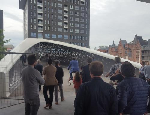 VeloComfort aan de Parkbrug